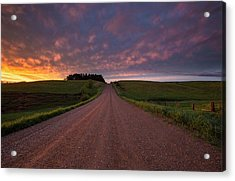 Acrylic Print featuring the photograph Backroad To Heaven  by Aaron J Groen