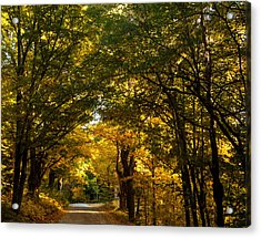Backroads Of New England Acrylic Print by Sue OConnor