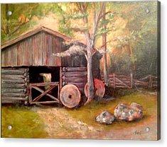 Backwoods Barn Acrylic Print