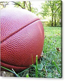 Backyard Football Acrylic Print