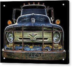 Bad 56 Ford Acrylic Print