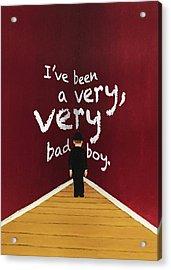 Bad Boy Greeting Card Acrylic Print by Thomas Blood