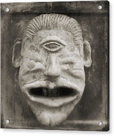 Bad Face Acrylic Print