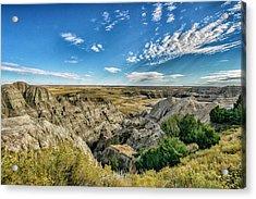 Bad Lands South Dakota.... Acrylic Print