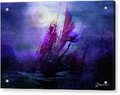 Bad Moon Rising Acrylic Print