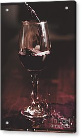 Bad Table Service With A Pour Aim Acrylic Print by Jorgo Photography - Wall Art Gallery