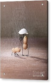 Bad Weather 02 Acrylic Print by Nailia Schwarz