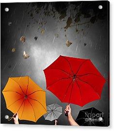 Bad Weather Acrylic Print by Carlos Caetano