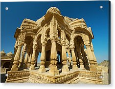 Acrylic Print featuring the photograph Bada Bagh  by Yew Kwang