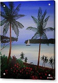 Badbay Acrylic Print