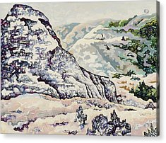 Badlands #2 Acrylic Print by Dale Beckman