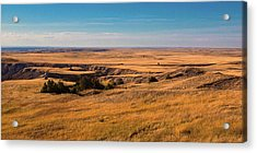 Badlands Vi Panoramic Acrylic Print