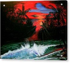 Badsailer Acrylic Print