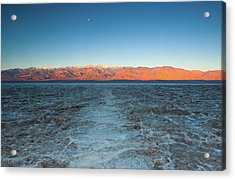 Acrylic Print featuring the photograph Badwater  by Catherine Lau
