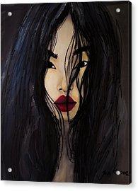 Bae Yoon Young At Backstage Acrylic Print