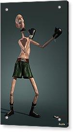 Baffi Storto - The Italian Boxer Acrylic Print