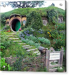 Bag End Acrylic Print by Anthony Forster