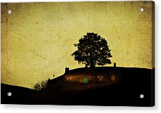 Bagend At Dusk Acrylic Print by Linde Townsend