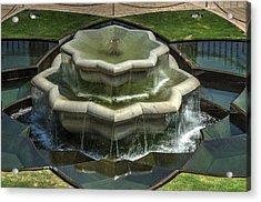 Bahai Fountain Acrylic Print