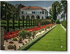 Baha'i Gardens 1 Acrylic Print