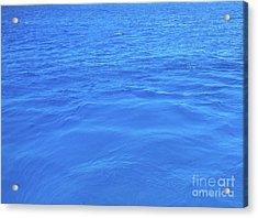 Bahama Blue Acrylic Print