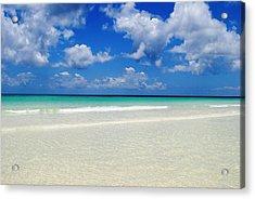Bahama's Heaven Acrylic Print by Karla Kernz