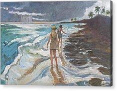 Bahia Honda Beach Acrylic Print