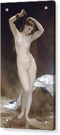 Baigneuse Or Bather Acrylic Print by William-Adolphe Bouguereau