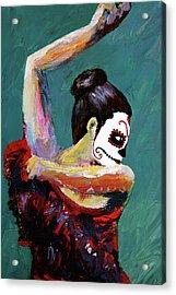 Bailan De Los Muertos Acrylic Print
