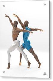 Baile Sincronizado Acrylic Print by Joaquin Abella