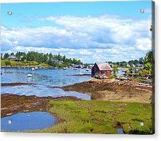 Bailey Island Lobster Shack Acrylic Print