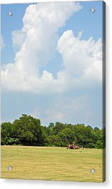 Bailing Acrylic Print by Jan Amiss Photography