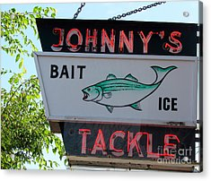 Bait And Tackle Acrylic Print