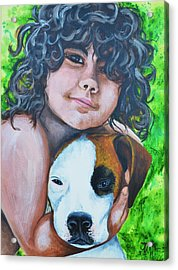 Baiya And Moja Acrylic Print