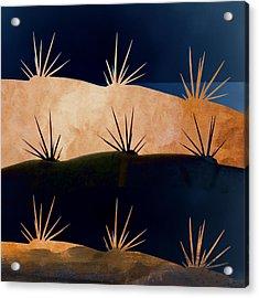 Baja Landscape Number 1 Square Acrylic Print