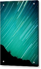 Baja Starry Night Acrylic Print by Benjamin Garvey