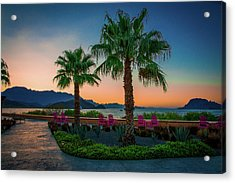 Baja Sunset Acrylic Print