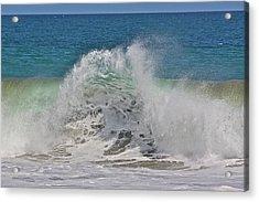 Baja Wave Acrylic Print