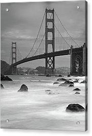 Baker Beach Impressions Acrylic Print