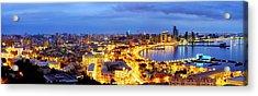 Acrylic Print featuring the photograph Baku by Fabrizio Troiani