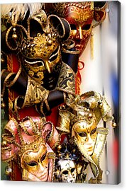 Bal Masque Acrylic Print