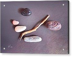 Balance 2 Acrylic Print by Elena Kolotusha