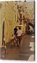 Balance In Jerusalem  Acrylic Print
