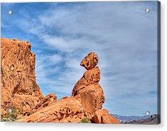 Balance Rock  Acrylic Print