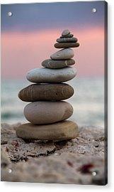 Balance Acrylic Print by Stelios Kleanthous