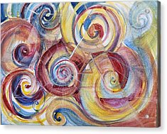 Balanced Awakening Acrylic Print