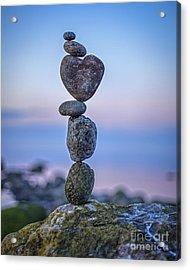 Balanced Heart Acrylic Print