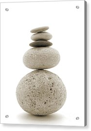 Balanced Acrylic Print by Jan Piller