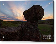 Acrylic Print featuring the photograph Balanced by Mike Dawson