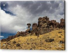 Balanced Rock Adventure Photography By Kaylyn Franks Acrylic Print